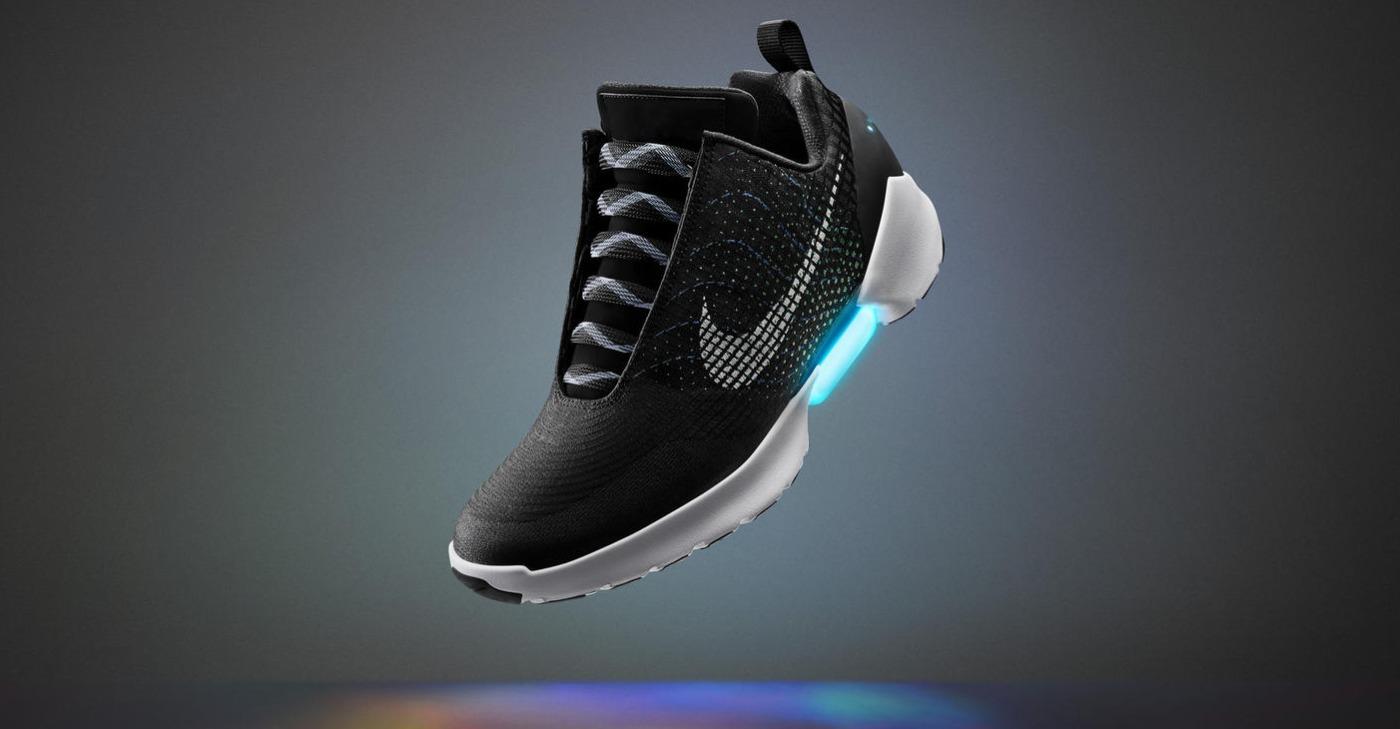 Las HyperAdapt 1.0 son las nuevas zapatillas auto-ajustables de Nike