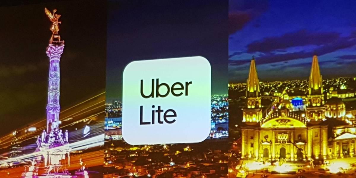 Se lanzó Uber Lite, la versión bajo consumo de la app
