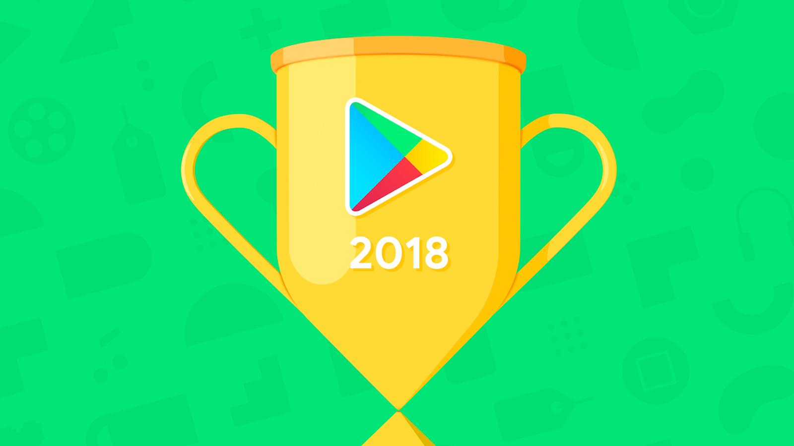 TOP – Lo mejor de Google Play en 2018 según Google