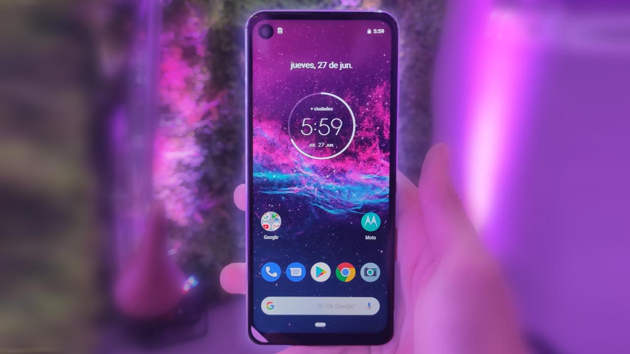 Motorola One Action: Lanzamiento del primer celular con cámara deportiva