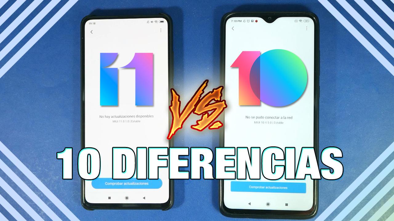 ¿Cuáles son las diferencias reales entre MIUI 11 y MIUI 10?