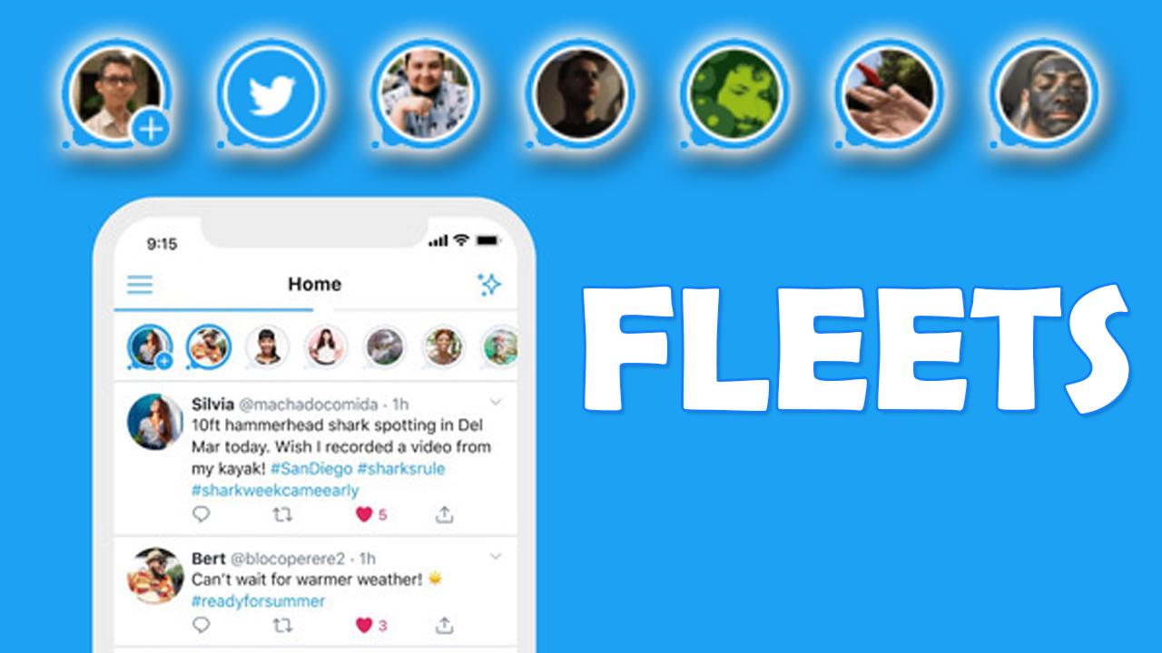 Fleets: así son las historias de Twitter que se borran en 24 horas