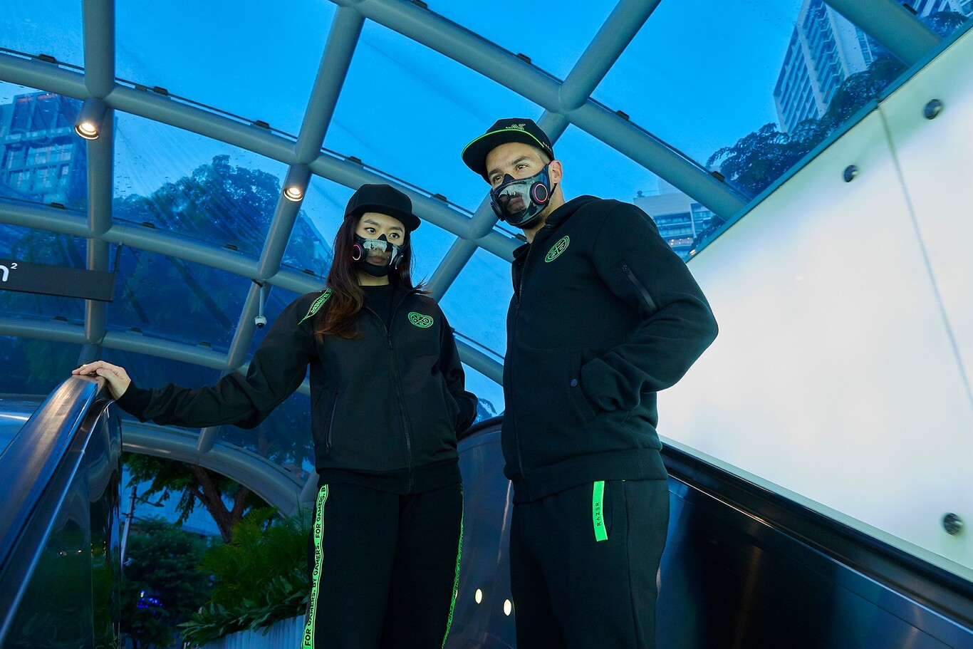 CES 2021: Project Hazel es el barbijo con parlantes y luces de Razer