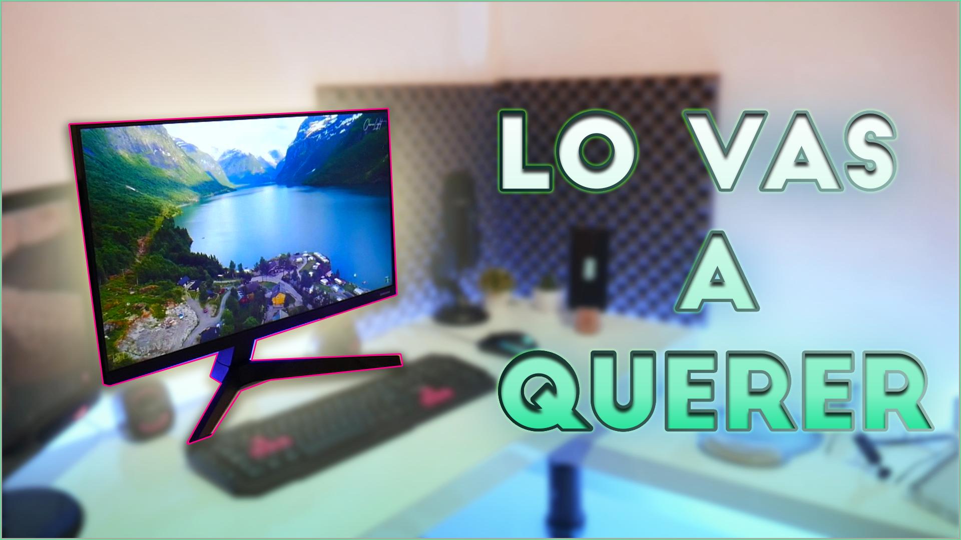 Mejor monitor gamer 75 Hz, 24», FreeSync y barato: Samsung LF24T350FH